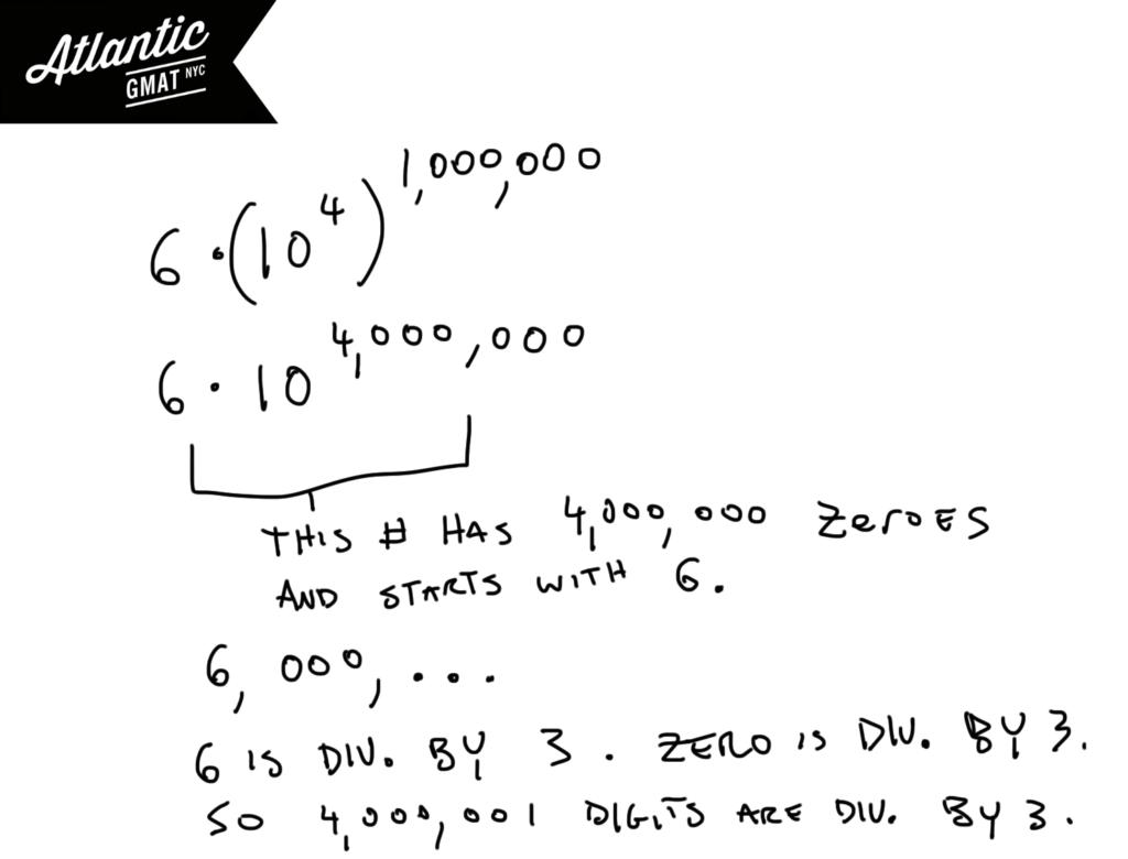 GMAT Sample Sample Questions Exponents Problem Solving Solution Diagram