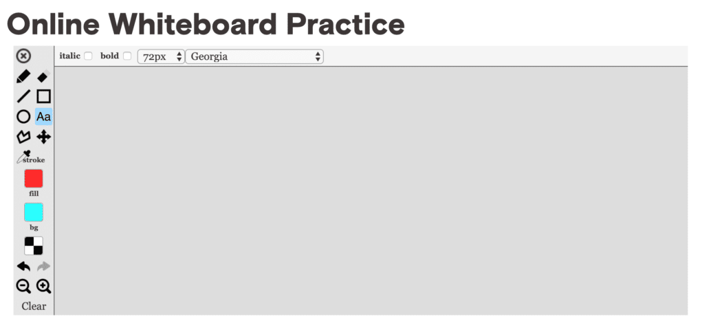 GMAT Whiteboard Practice Tool